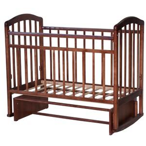 Кровать детская Алита-3 маятник, орех
