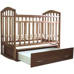 Кровать детская Алита-4 маятник, орех