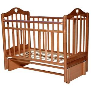 Кровать детская Каролина-3 маятник, орех