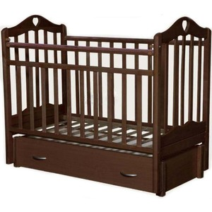 Кровать детская Каролина-4 маятник, орех