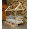 Детская деревянная кровать Избушка 70х190