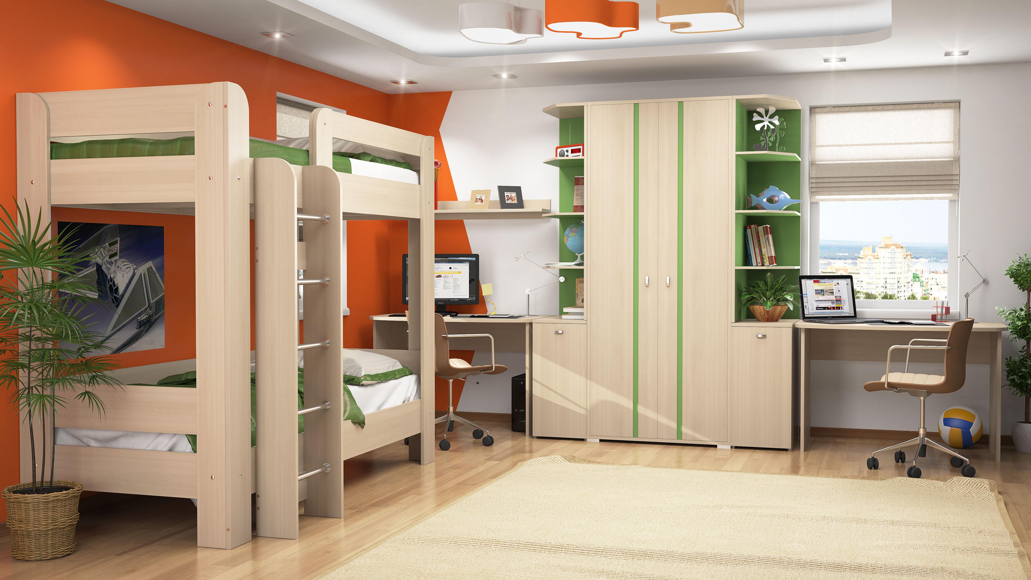 Заказать детскую мебель по индивидуальным размерам в москве.