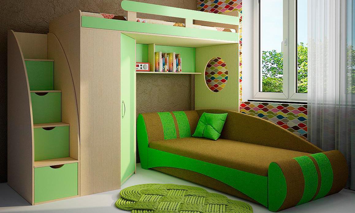 купить в новосибирске кровать чердак с диваном внизу комментарий