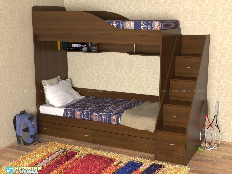 Двухъярусная кровать своими руками: схемы, фото, чертежи и